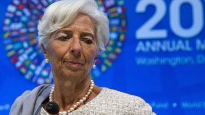 EZB-Präsidentin Lagarde unter Druck von Exctinction Rebellion und Attac