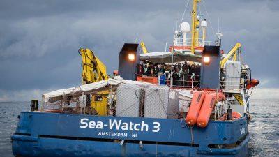 """""""Sea-Watch 3"""" von italienischer Küstenwache in Sizilien festgesetzt"""