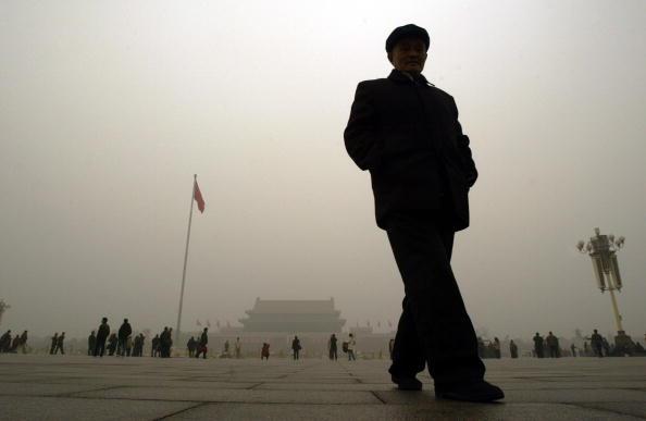 Mega-Smogfront aus China als Umweltbedrohung