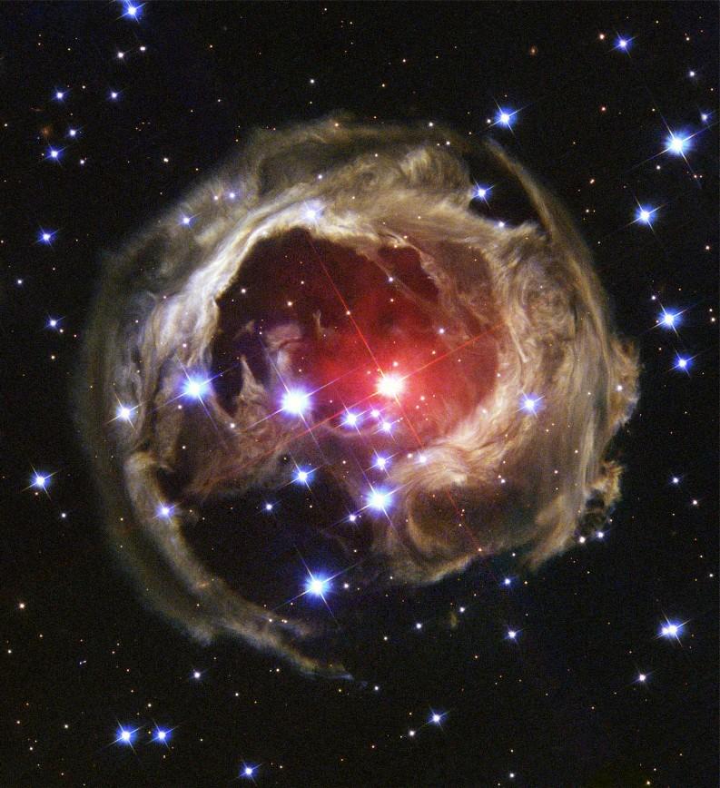 Das Auge der Kosmologen verlassen im Weltall