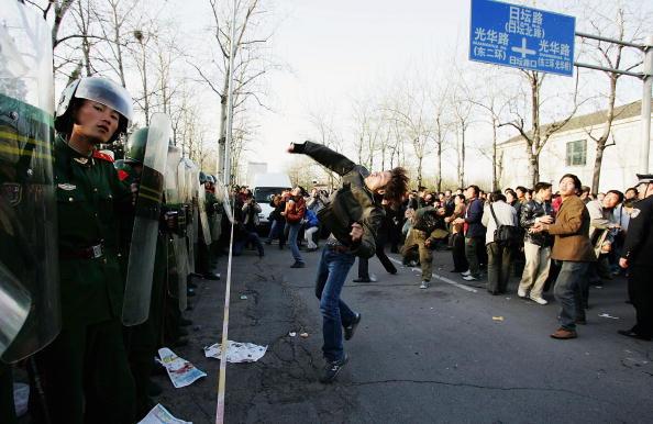 Japanfeindliche Ausschreitungen in China