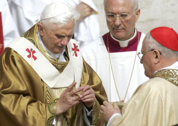 Der deutsche Papst Benedikt XVI.