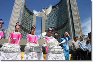 Falun Dafa Tag am 13. Mai weltweit gefeiert