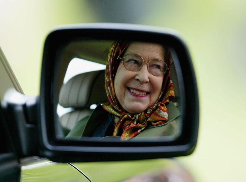 Queen Elisabeth II. bei der Windsor Horse Show