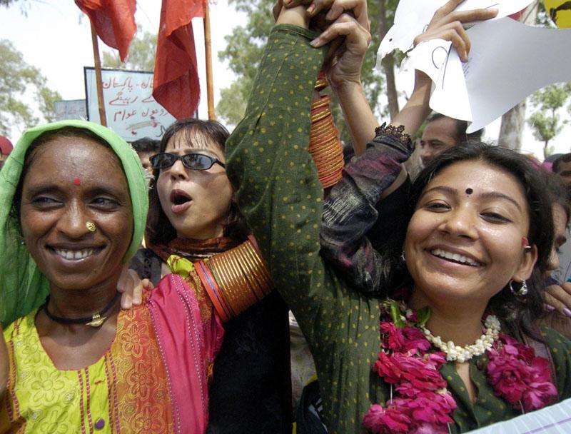 Zeichen des Friedens für Indien und Pakistan