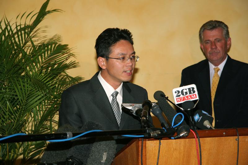 """Chen Yonglin: """"Die Kommunistische Partei Chinas hält die australische Regierung für käuflich."""""""