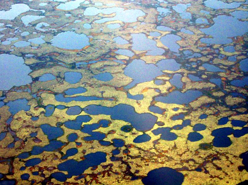 """US-Amerikanische Untersuchung über das Phänomen der """"Verschwindenden Arktischen Seen"""""""