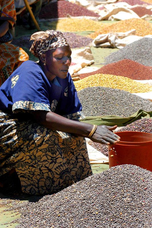 Großer Markt in Bunia, Demokratische Republik Kongo