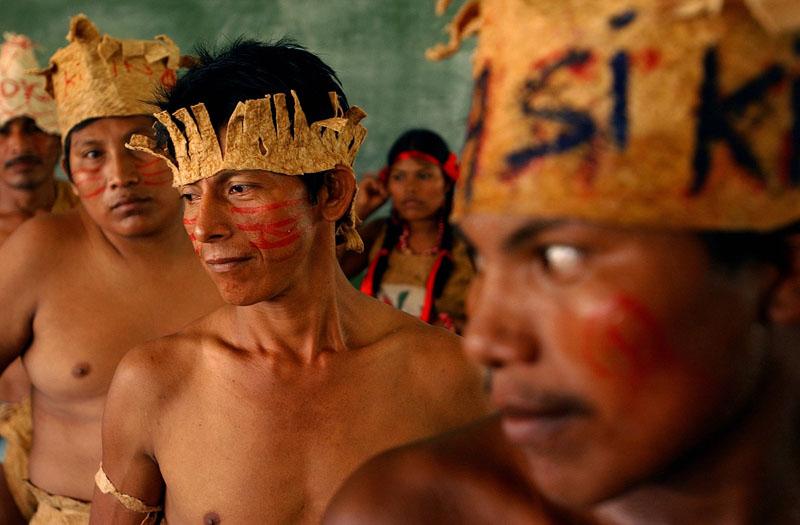 Mayagna Indianer in Nicaragua