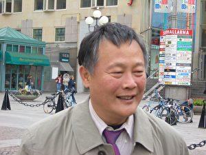 Wei Jingsheng, Chinas bekanntester Dissident, am 11. Juni in Stockholm (