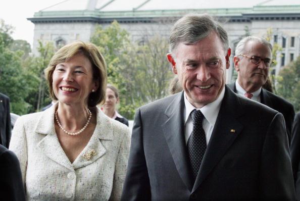 Horst Köhler seit einem Jahr im Amt