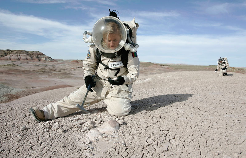 "Die ""Mars Desert Research Station"" in Hanksville, Utah, USA"