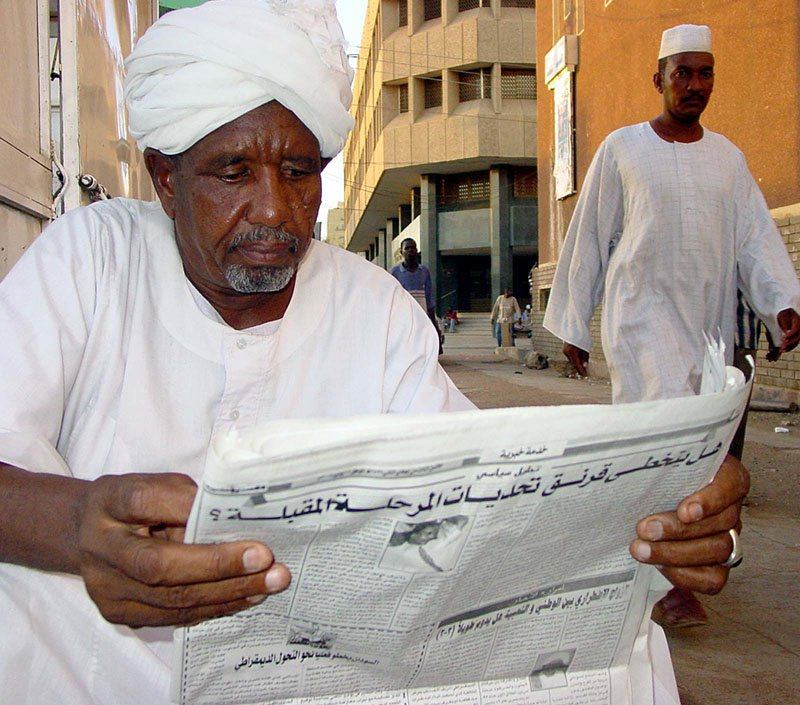 Rücknahme der staatlichen Zensur im Sudan
