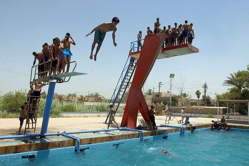 Sommer in Bagdad, Irak und Chicago, USA