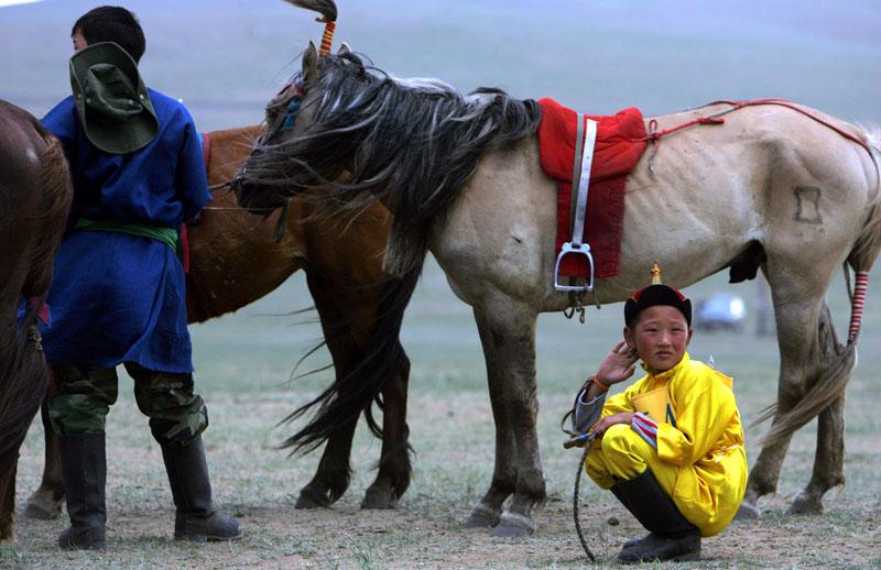 Das Nadam Festival in der Mongolei