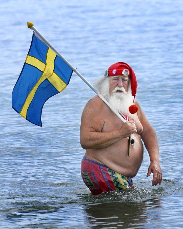 Weltweihnachtsmannkongress in Kopenhagen