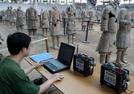 Chinas berühmte Terrakotta-Krieger in Gefahr