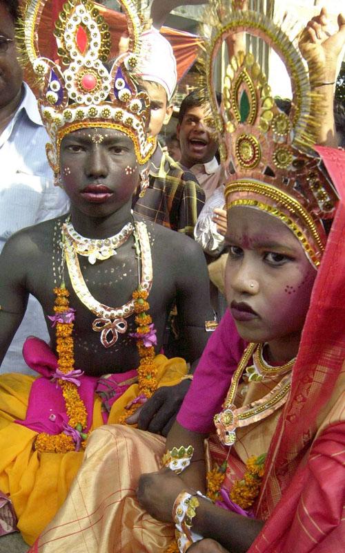 Zum Geburtstag von Krishna