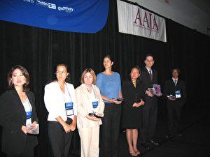 Die Gewinner. In diesem Jahr haben mehr als 100 Medien Artikel für den AAJA-Wettbewerb eingereicht. (ET)