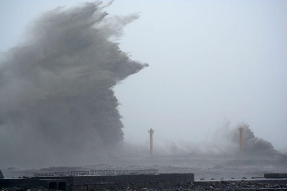 """Taifun """"Talim"""" suchte Taiwan heim"""