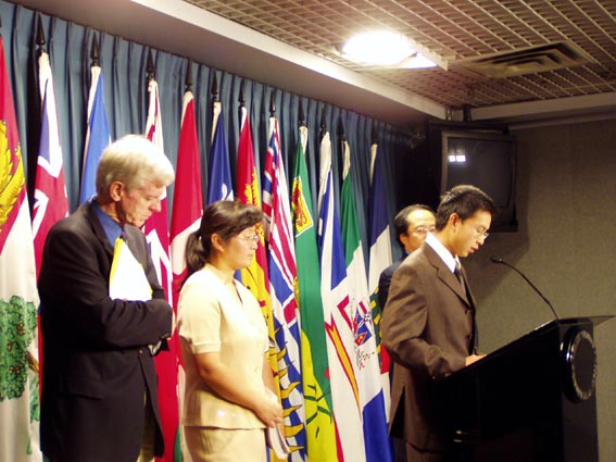 Chinas Staatspräsident in Kanada erwartet