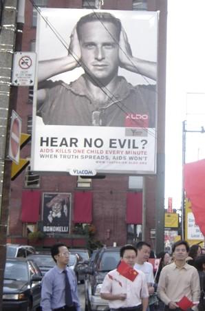 Hu wegen Menschenrechtsverletzungen unter Druck von Kanadas Medien