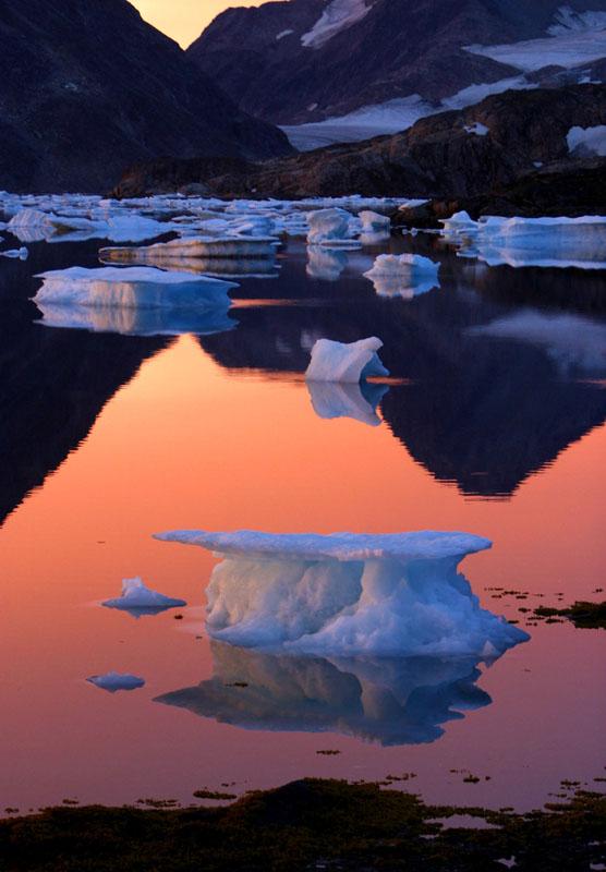 Erwärmung am Polarkreis