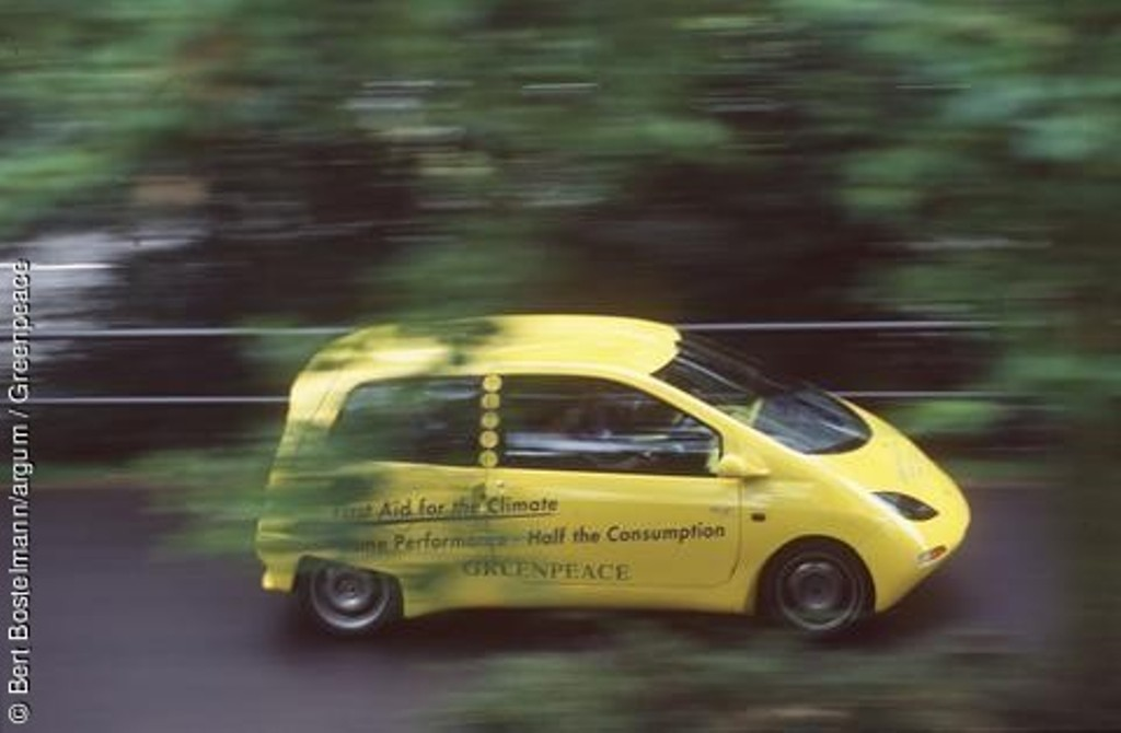Greenpeace-SmILE hängt deutsche Autoindustrie ab!