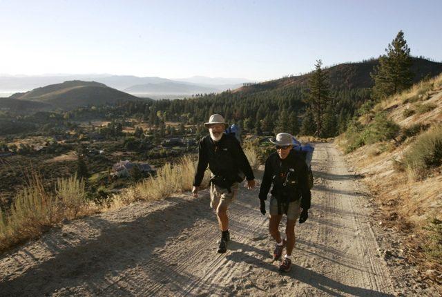Ken und Marcia Powers in der Nähe von Carson City, Nevada.   Foto: Photo/Cathleen Allison
