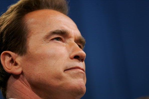 Kaliforniens Gouverneur Arnold Schwarzenegger (Photo by Justin Sullivan/Getty Images)