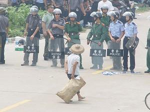Gewalt statt Demokratie in Taishi