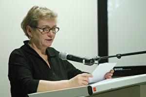 """Bärbel Bohley, Bürgerrechtlerin in der ehemaligen DDR: """"Es gibt in einer Diktatur nichts Wichtigeres als die Unterstützung der Bürgerrechtler von außen."""" ("""