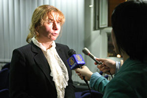 Alexandra Hildebrandt hielt den Einschüchterungsversuchen der chinesischen Botschaft stand. (