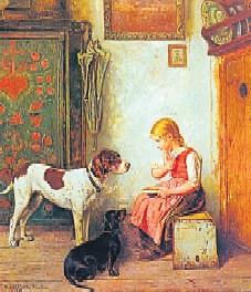 Der Maler Adolf Eberle
