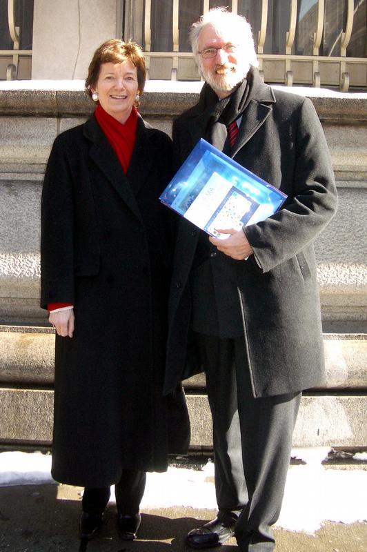 Von New York via Bochum nach Venedig: Mary Robinson ist Ehrenpräsidentin des Menschenrechtszentrums