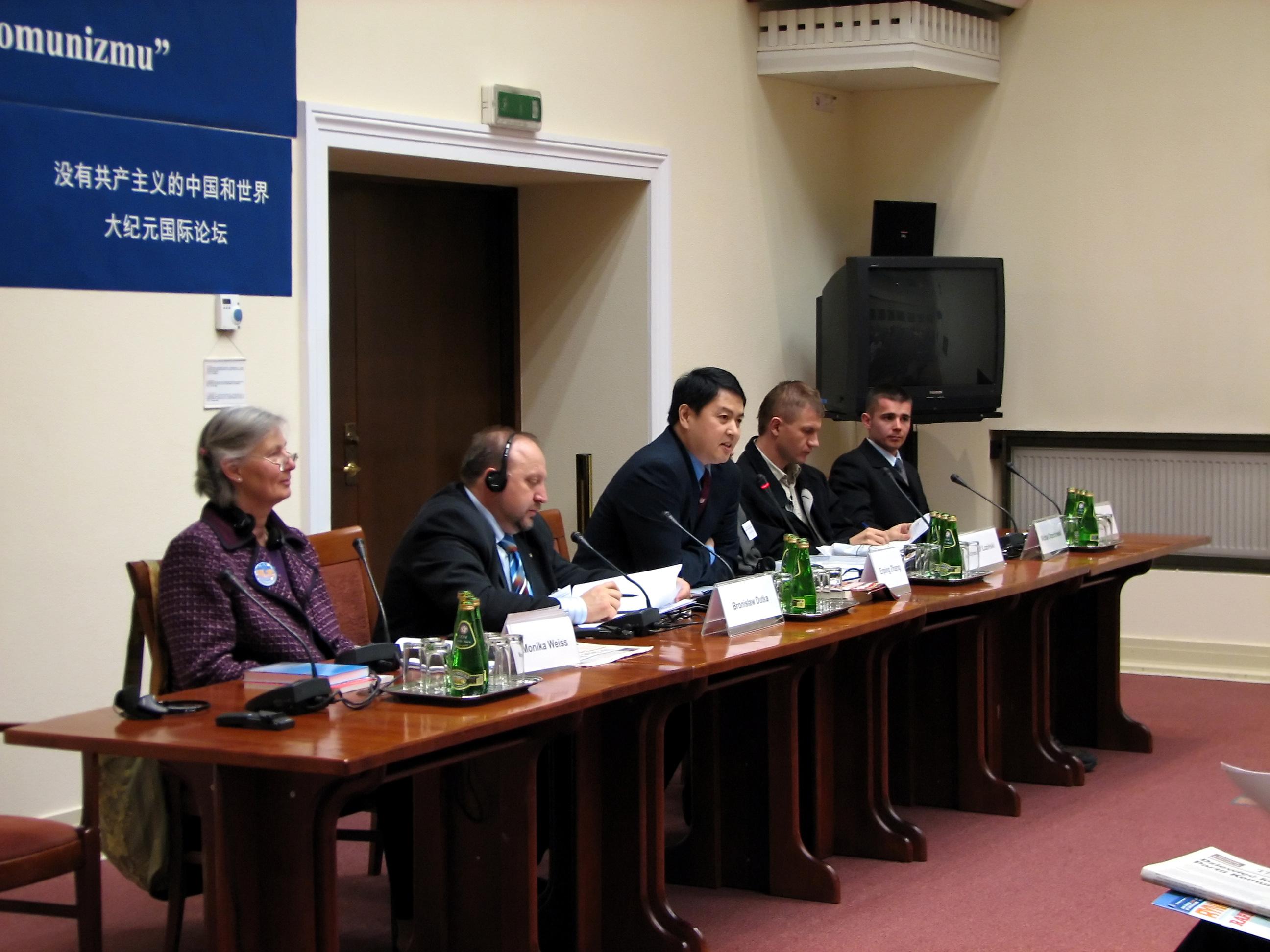 Seminar über Die Neun Kommentare im Haus des Polnischen Parlaments