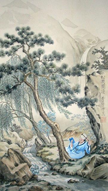 """""""Ehrlichkeit war eine der hohen Tugenden, die Chinas Weise lehrten und an denen die Herrscher in der Vergangenheit in China gemessen wurden."""" Chinesische Malerei von Charlotte Kühnert. (Repro - Nils Kühnert)"""