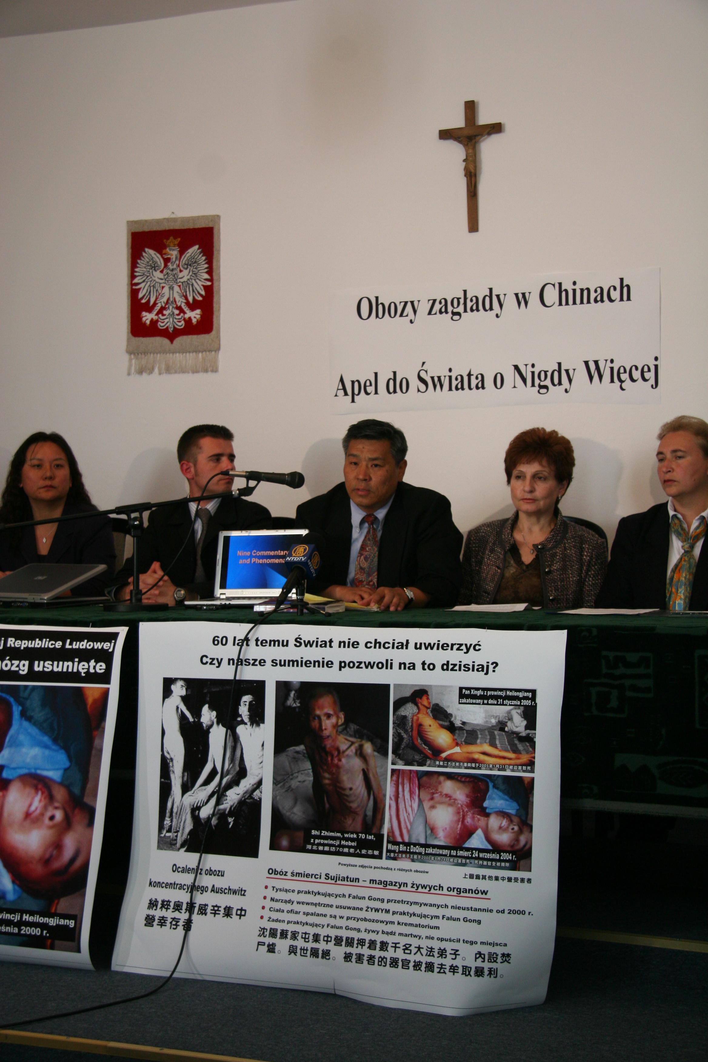 Auschwitz-Forum diskutiert Organraub in chinesischen Todeslagern