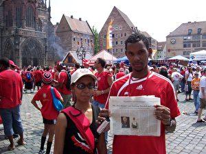 """""""Die Socca Warriors vom Inselstaat Trinidad und Tobago"""" in: Die neue Epoche  2006, Ausgabe 7 ("""