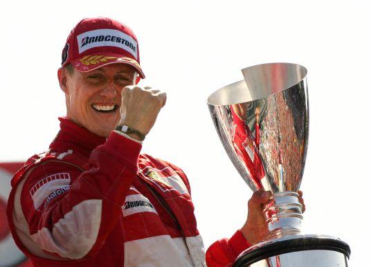 """Michael Schumacher tritt zurück mit einem """"Riesendankeschön"""""""