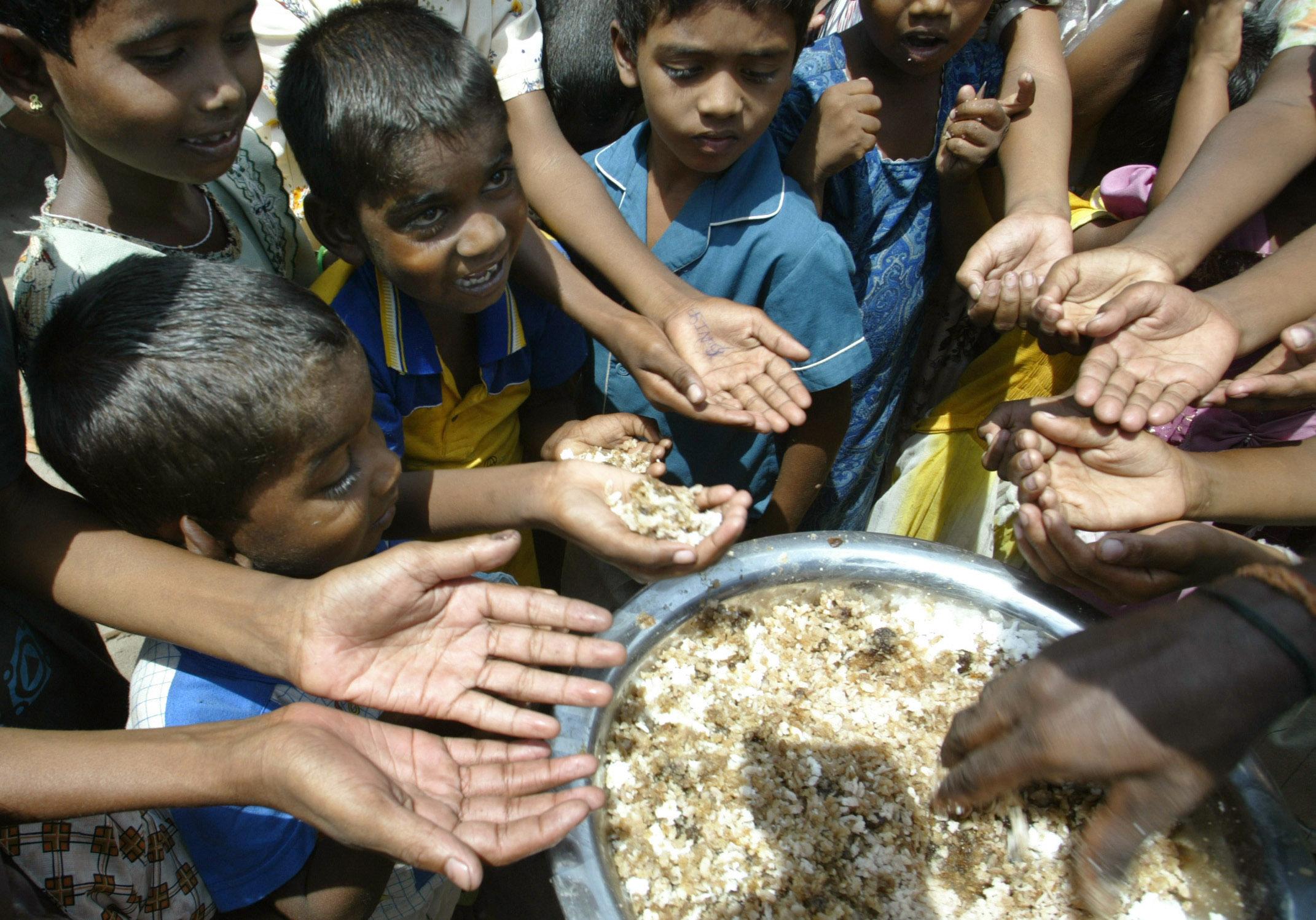 Frisches Wasser für die Flüchtlinge
