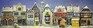 Die alte Stadt, Adventskalender von 1946, heute wieder erhältlich.