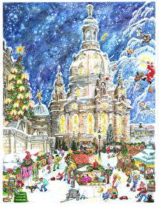 Die Dresdner Frauenkirche als neueste Ausgabe (