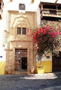Haus in der Altstadt von Las Palmas. (