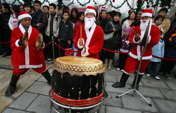 Online-Streit über Weihnachten in China
