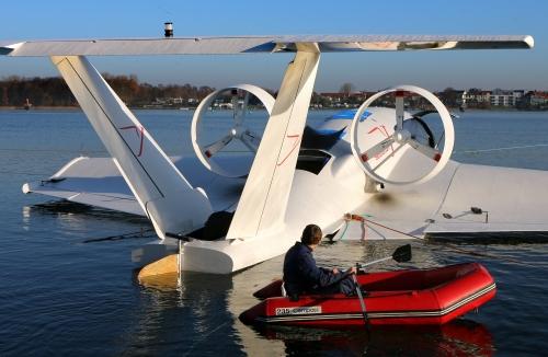 Hochfliegende Pläne: Flügelboote aus Deutschland sollen Asien erobern
