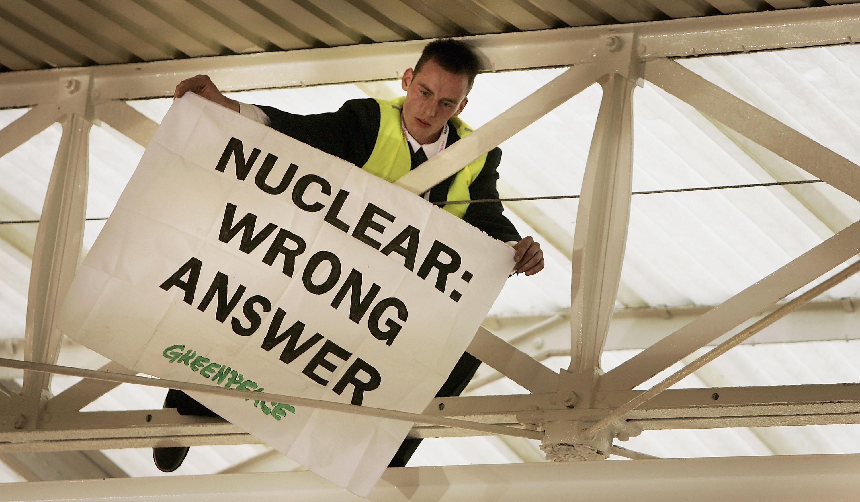 Greenpeace gewinnt Prozess um Atomstreit gegen britische Regierung