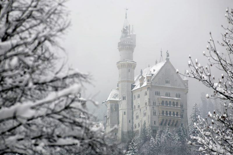 Weißes Märchenschloss