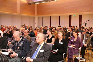 Publikum während der Chinakonferenz von Epochtimes Europe und IGFM. (