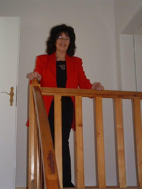 Ursula Popiolek, Vorsitzende des Fördervereins Gedenkbibliothek zu Ehren der Opfer des Stalinismus e.V. (Foto: Verein Gedenkbibliothek)
